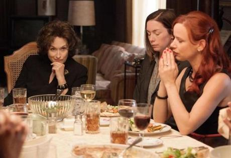 (L-R) MERYL STREEP, JULIANNE NICHOLSON and JULIETTE LEWIS star in AUGUST: OSAGE COUNTY 15stagescreen