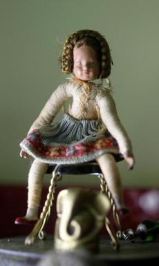 A doll her grandmother gave her.