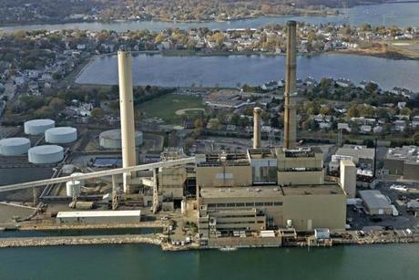 The Salem Harbor power station was shut down on June 1.