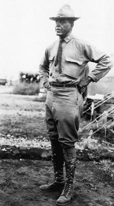 Charles Young of the 10th Cavalry in 1916.