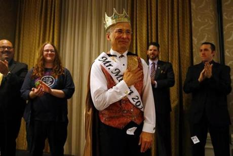 You was crowned Mr. Mensa 2014 during the annual Mensa gathering in Boston.