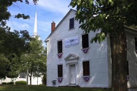 The Old Meeting House in Lynnfield.