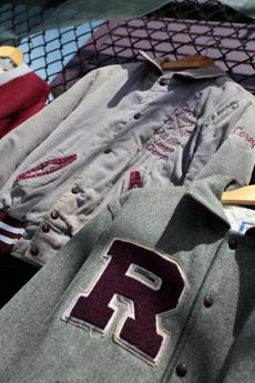 Old class jackets and other items were among the items on display during the reunion.