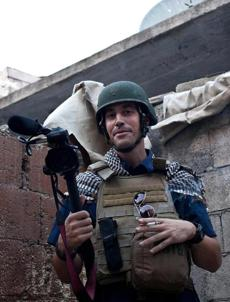 James Foley was kidnapped Nov. 22 while covering the conflict in Syria and has been missing since. He was abducted once before, while reporting in Libya in 2011.