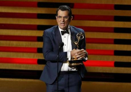 Ty Burrell accepted the award for Outstanding Supporting Actor In A Comedy Series for his role in