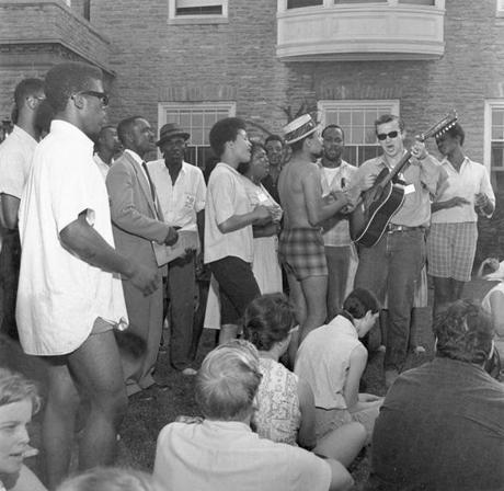 Student volunteers and more experienced civil rights activists gathered in June 1964 on the campus of what was then the Western College for Women in Oxford, Ohio, to prepare for Freedom Summer, when they would register voters and live and teach in black communities.