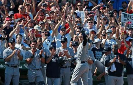 Image result for derek jeter last game 2014 images