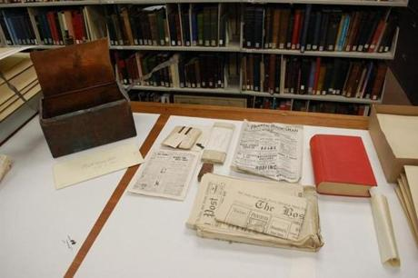 The time capsule included sealed letters, photographs, and newspaper articles in near-perfect condition.