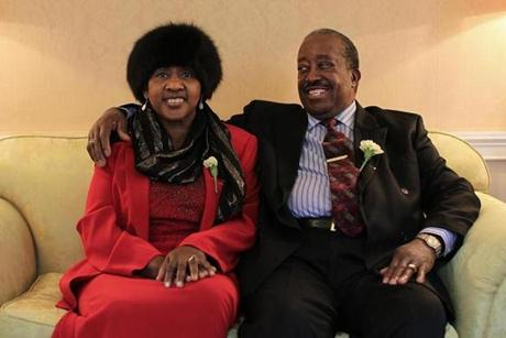 Booker T. Wilson, 72, and his wife Willie Ann, 71, have been married 51 years.