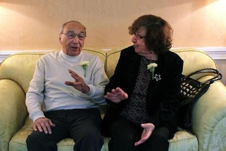 Anthony and Anna Marie Fiore have been married 58 years.