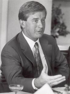 Former Governor William Weld in 1991.