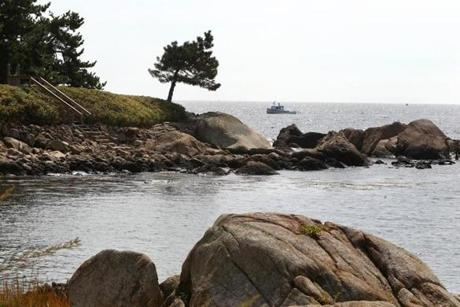 Manchester-by-the-Sea, MA--9/24/2014--This view from Masconomo Street in Manchester-by-the-Sea is photographed, on Wednesday, September 24, 2014. Pat Greenhouse/Globe Staff Topic: 041215topspots-MBTS Reporter: XXX