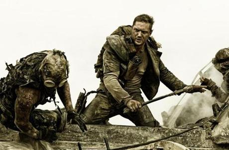 Tom Hardy in the 2015 film MAD MAX: FURY ROAD, directed by George Miller. 15Max