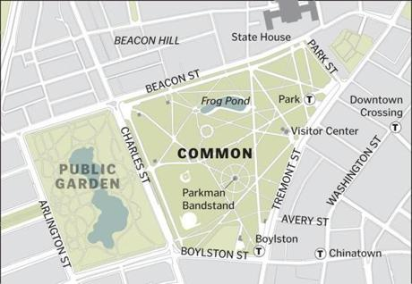 parkman bandstand boston common map Boston Common S State Of Disrepair Photo 7 Of 18 Pictures parkman bandstand boston common map