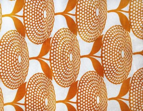 Vintage Mid Century Modern Fabric That Will Be Featured In The Exhibit