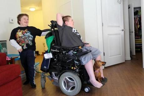 Pressure from parents like Jenn McNary did lead to a more flexible clinical trial for eteplirsen. McNary's wheelchair-bound son Austin, like his brother Max, is now getting the drug.