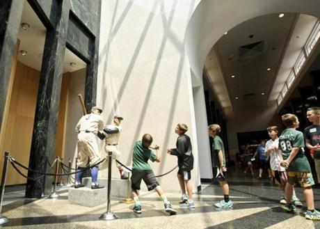 Boston Fans Baseball Hall Of Fame Will Knock Your Sox Off