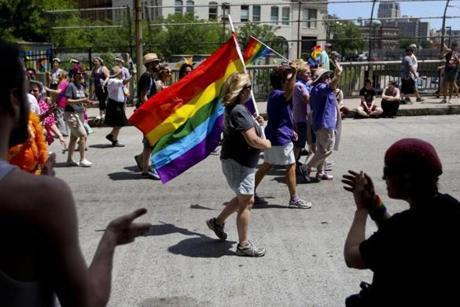 2015 Boston Pride Parade - Copely Square - Boston, MA on 6/13/2015 ...