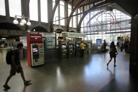 Back Bay Station To Become A Vision In Glass The Boston