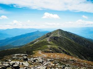 Appalachian Trail on sunny day, White Mountains Franconia Ridge, New Hampshire; Shutterstock ID 311087024; PO: Appalachian Trail
