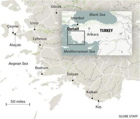 Safe harbor in Turkey: The posh beaches and quiet coves ...
