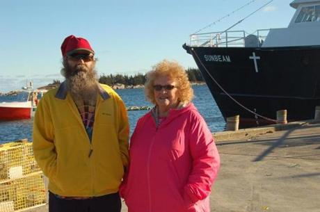 Robert and Cynthia Young, residents of Matinicus Island.