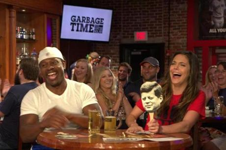 "In September, Nolan hosted ""Garbage Time"" at Allston's White Horse Tavern, where she used to tend bar. On the hot seat: Patriots Hall of Famer Troy Brown."