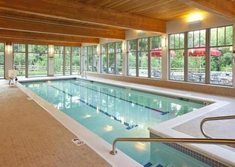 Waterstone  at Wellesley offers a heated pool, a standard amenity at high-end developments.