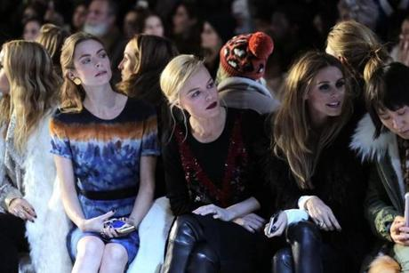 From left: Jaime King, Kate Bosworth, and Olivia Palermo.