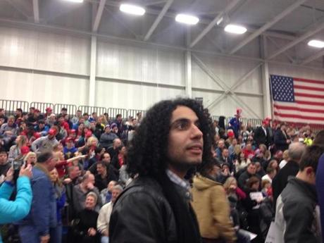 Ali Harb, 26, is a writer for Dearborn's Arab American News, which has been the recipient of taunting tweets.