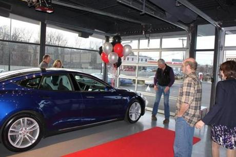 Green Energy Kind Of Guy Wins An Electric Car The Boston