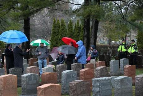 Dorothy Steele's funeral was held March 28 at Woodlawn Cemetery in Everett.