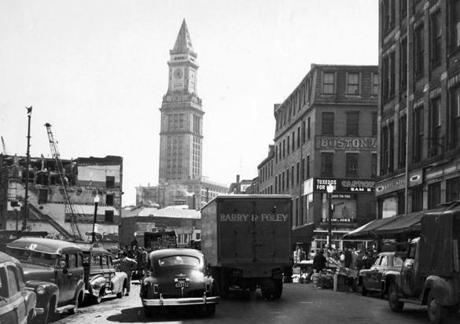 Customs House Clock Turns 100 Years Old Photo 5 Of 27 Pictures The Boston Globe