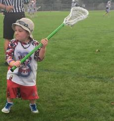 On Lacrosse Field And Off 8 Year Old Is More Than A