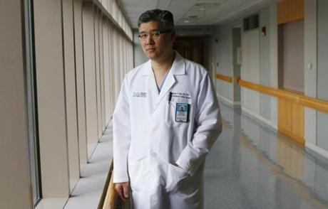 "Dr. Frederick Chen, chief of cardiac surgery at Tufts Medical Center, said of the hospital's performing four heart transplants in one day, ""It's not ideal and it stresses the system to the max,"" but when necessary, the hospital has to make it work for its patients."