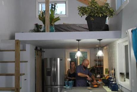 A tiny house featured in HGTV's Tiny House Big Living show.