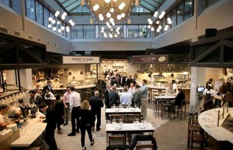 Eataly Boston is set to open Tuesday afternoon.