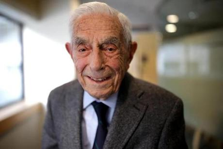 Dr. Walter Guralnick is 100-years-old.