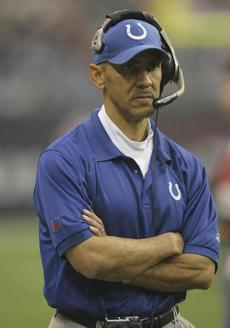 """I would tell them, 'We've got to survive the first quarter, because no matter what we prepare for, we're going to see something we don't expect,' "" says Tony Dungy, former head coach of the Colts, about preparing his team to play the Patriots."
