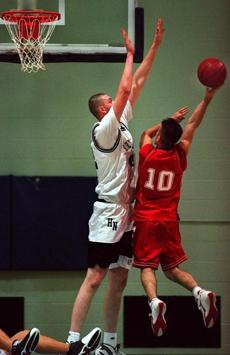 Neil Fingleton played basketball for Holy Name Central Catholic Junior-Senior High School in Worcester.