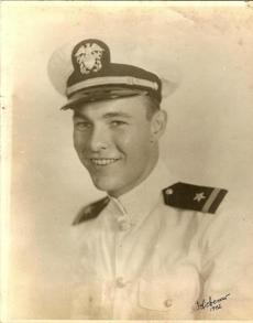Mr. Liebenow was stationed near the Solomon Islands during World War II with John F. Kennedy.