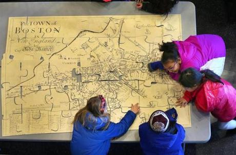 Boston schools ditch conventional world maps in favor of this one ...