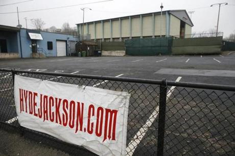 Part of the site for the Jackson Square Recreational Center.