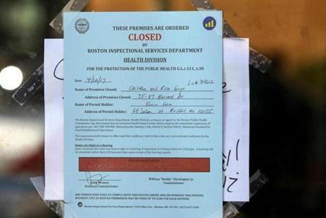 Boston Food Safety Restaurant Inspectors