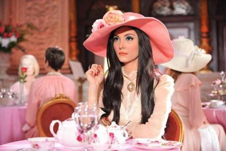 "Samantha Robinson in ""the Love Witch."""