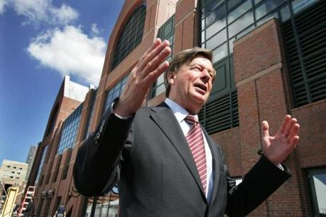 Mr. Termeer was on hand to announce Genzyme's $150 million expansion of its Allston plant in 2008.