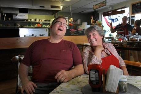 Neal and Colleen Pinkerton hope their hardscrabble town can become an artists colony.