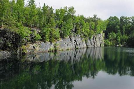 Kineo Quarry in Monson.
