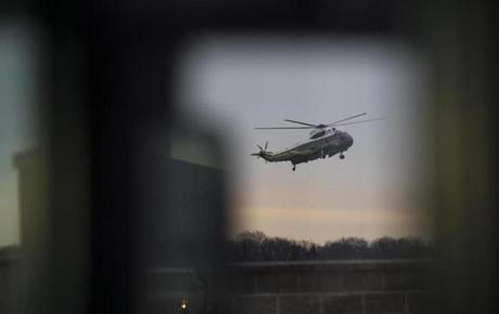 President Trump arrived at Dover Air Force Base, Del., on Feb. 1 to meet with the family of a Navy SEAL killed during an operation in Yemen.