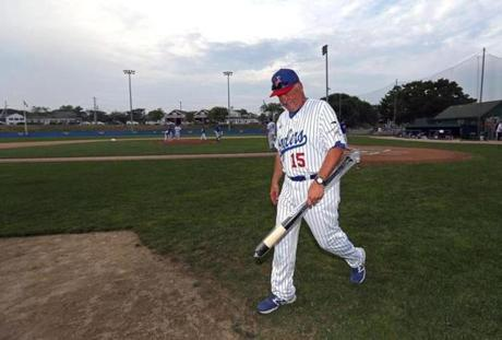 John Schiffner may be retiring as manager of the Chatham Anglers, but he said he doesn't plan on staying away from Veterans Field.